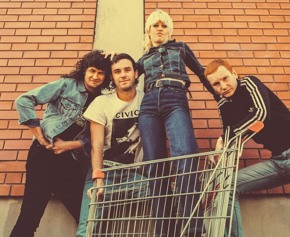 Amyl and the Sniffers; Credit: Jamie Wdziekonski