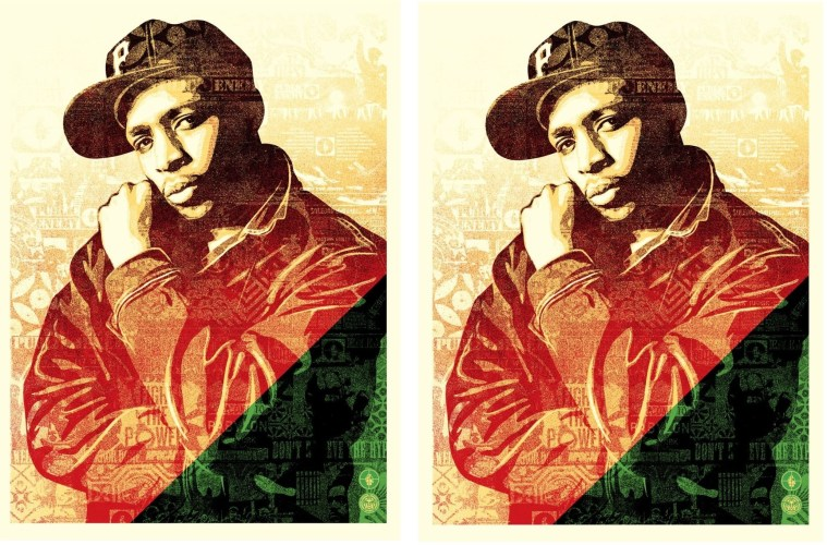 Chuck D. Collage