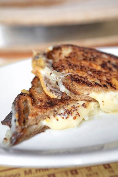 Classic grilled cheese at Pizzeria Mozza; Credit: Anne Fishbein