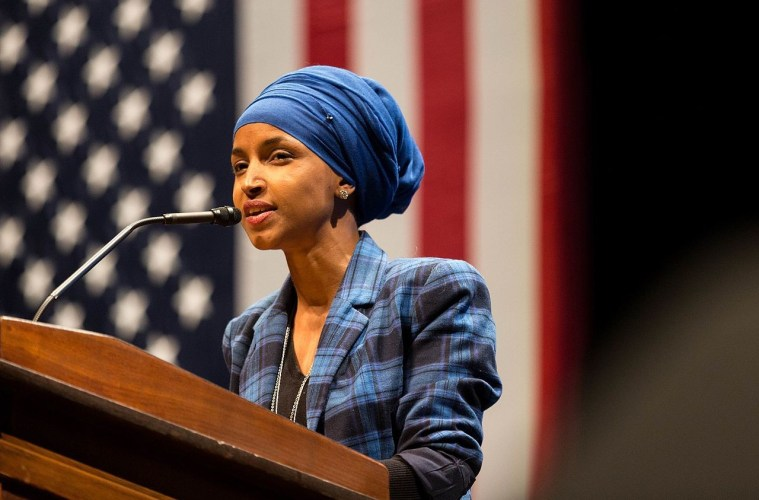 Representative Ilhan Omar (D-Minnesota) has become a divisive figure even within the Democratic party and communities she supports (such as LGBTQ) due to recent statements.; Credit: Lorie Shaull/Wiki Commons