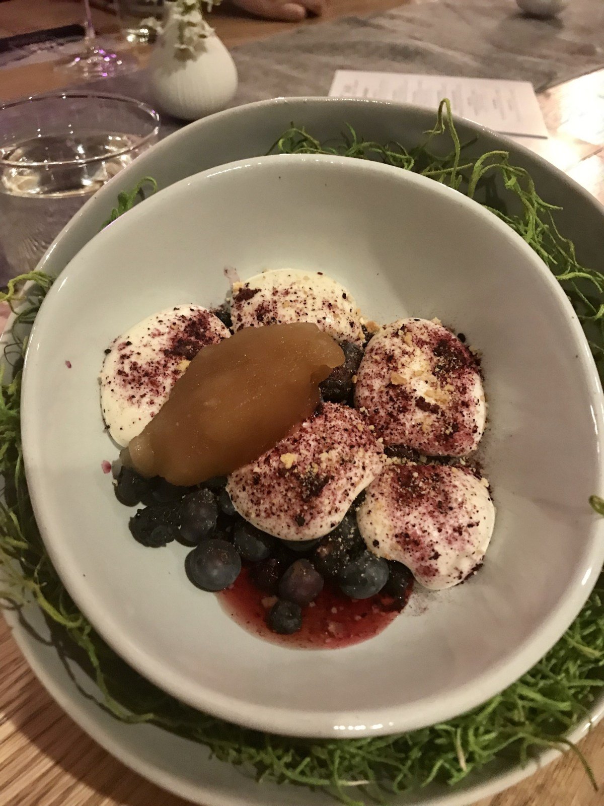 Blueberry Fields with root beer granita; Credit: Michele Stueven