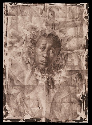"""Charles White, """"Wanted Poster Series #11,"""" 1970. Lithograph. On view at Los Angeles County Museum of Art; Credit: Courtesy The Charles White Archives"""