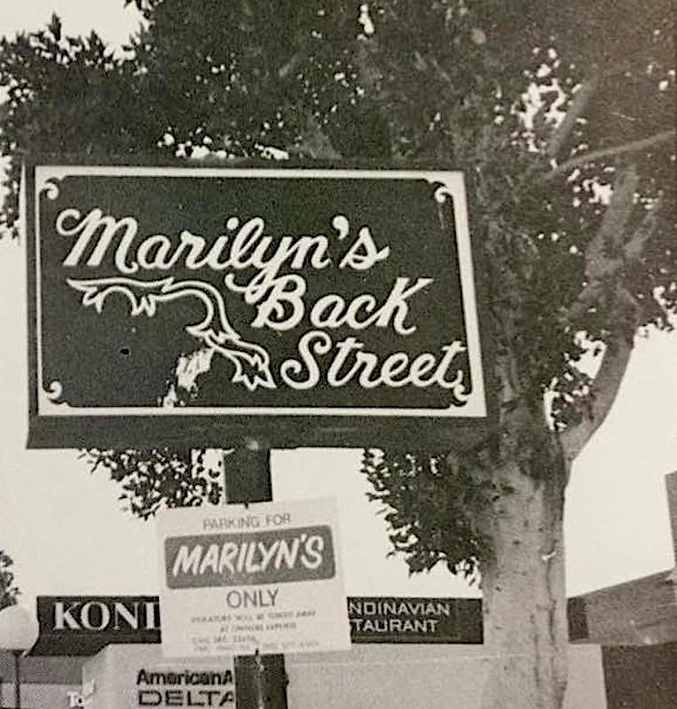 Marilyn's parking lot; Credit: Courtesy Victor Mena