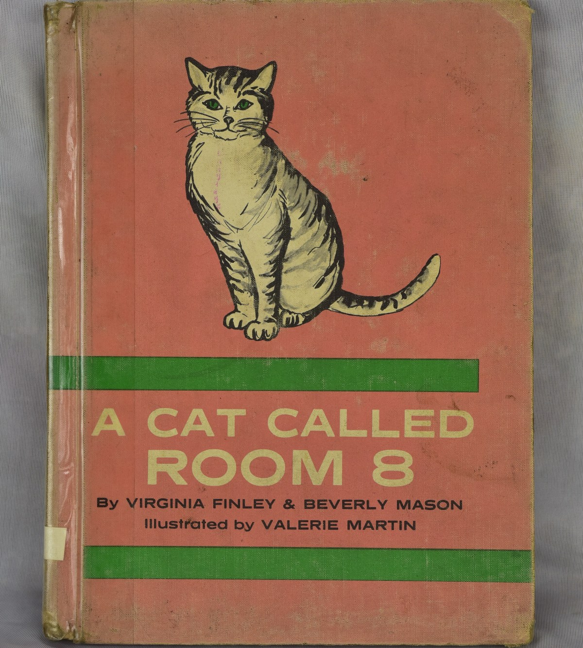 A Cat Called Room 8 by Virginia Finley and Beverly Mason, illustrated by Valerie Martin, G.P. Putnam's Sons, 1966; Credit: Paul Koudounaris