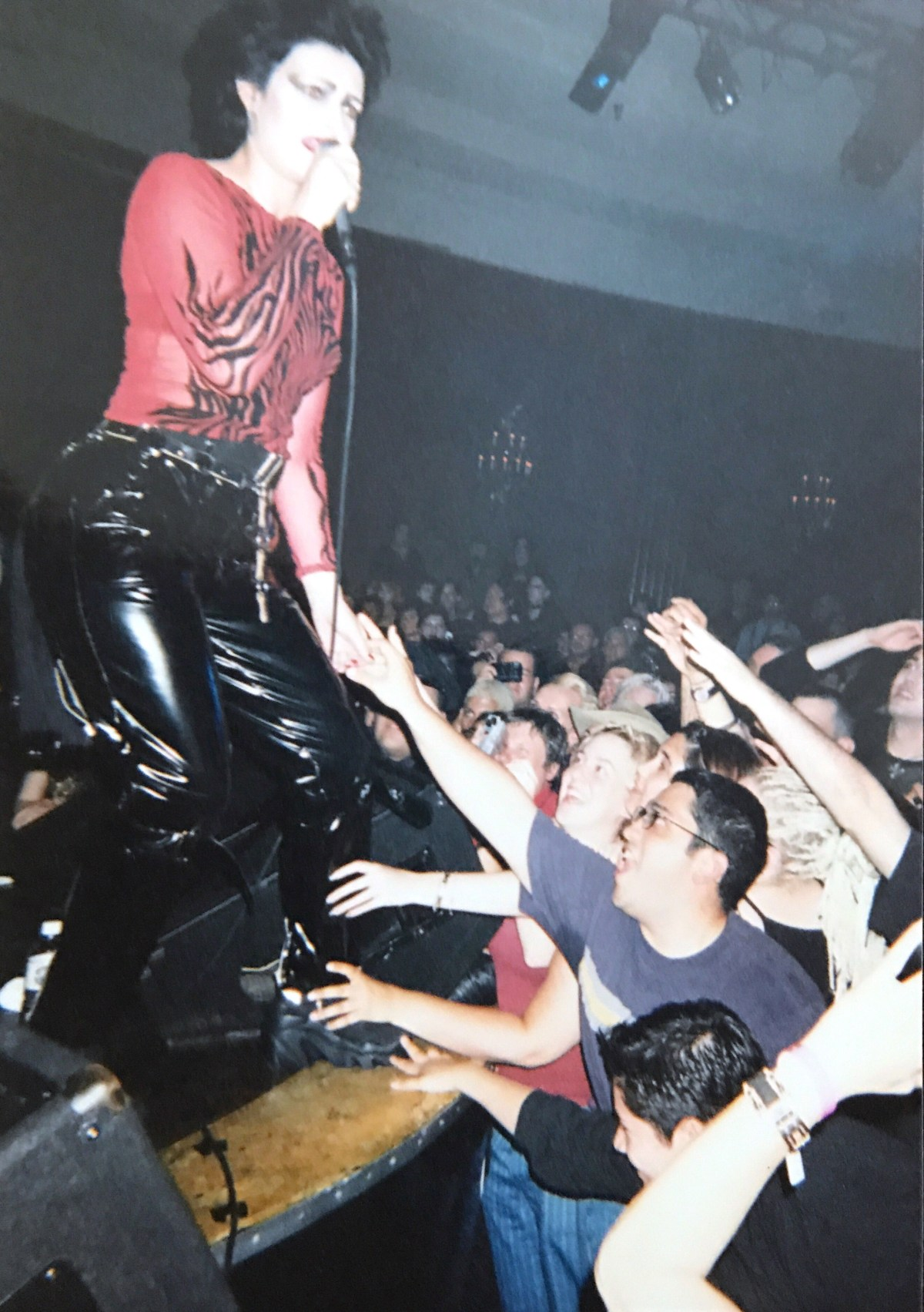 Siouxsie Sioux plays Coven 13 in the '90s.; Credit: Jason Lavitt