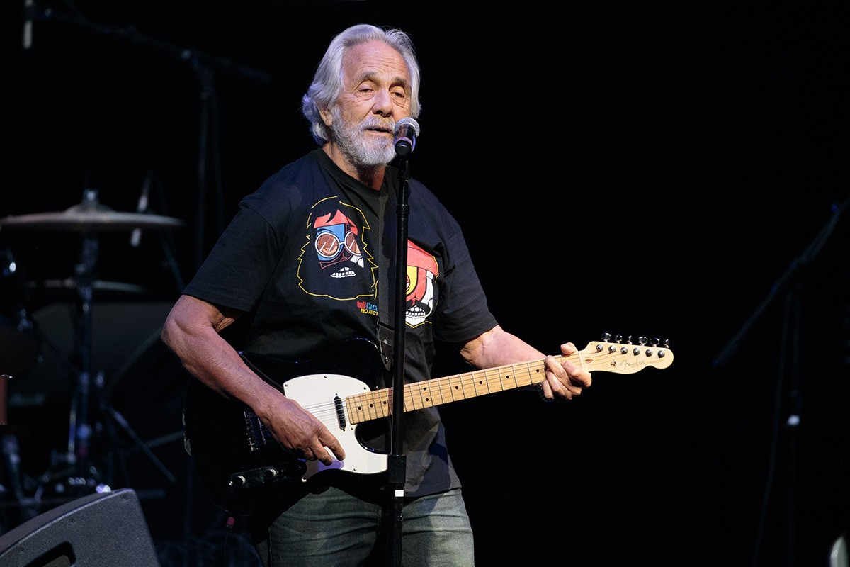 Tommy Chong on the Cheech and Chong Up in Smoke The Tour in 2016; Credit: Suzanne Cordeiro/REX/Shutterstock