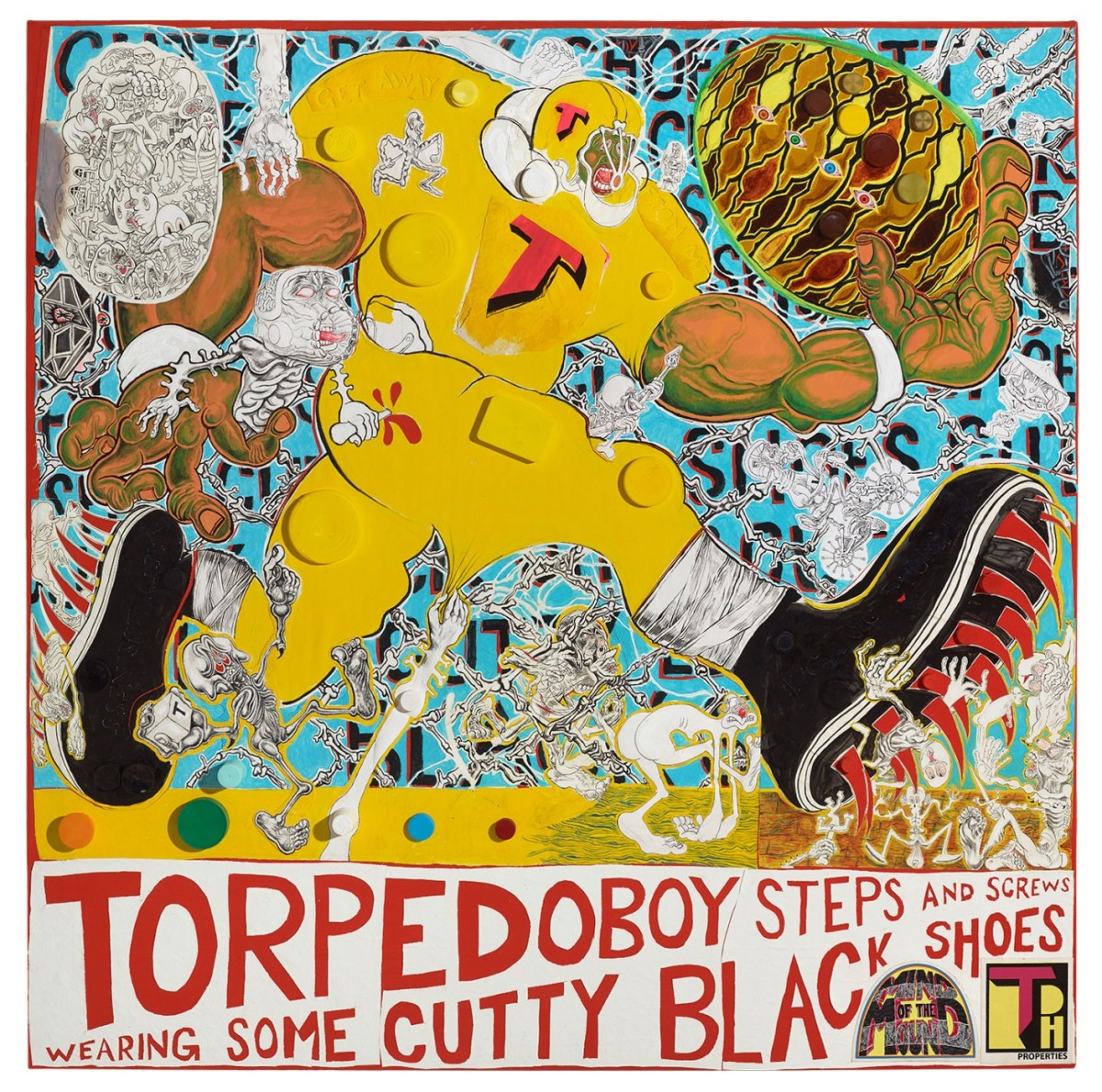 TorpedoBoy Steps and Screws Wearing Some Cutty Black Shoes; Credit: Courtesy Shulamit Nazarian Gallery