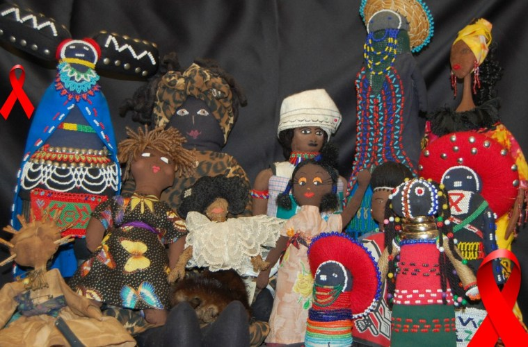 35th annual Black Doll Show (2015): Trench Art Retrospective: The War Against HIV/AIDS Women of the African Diaspora in the Trenches