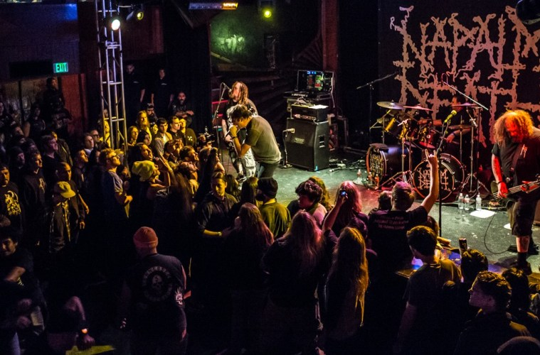Napalm Death at the Troubadour