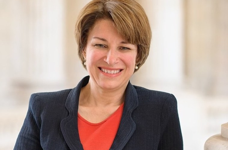 Amy Klobuchar; Credit: U.S. Congress/WikiCommons