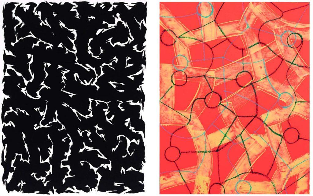 Pattern Language Recent Paintings by Peter Zellner & Tyler McMartin