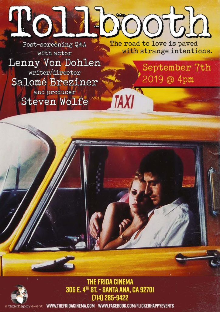 Tollbooth (1994): Free Screening + Q&A with actor Lenny von Dohlen, writer/director Salomé Breziner, & producer Steven Wolfe