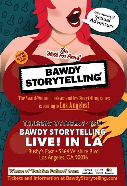 Bawdy Storytelling: Live in Los Angeles!