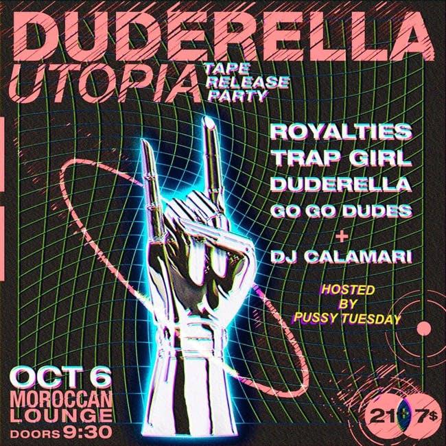 Duderella, Trap Girl, Royalties