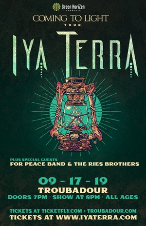 Iya Terra, The For Peace Band, The Ries Brothers