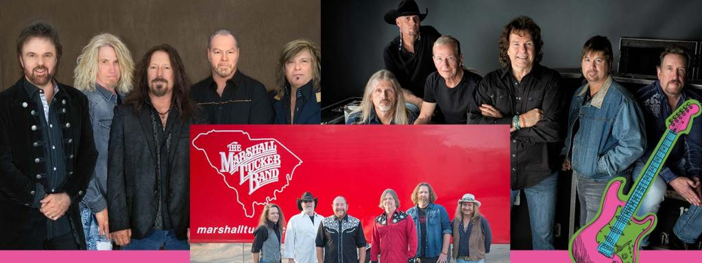 38 Special, The Marshall Tucker Band, The Outlaws