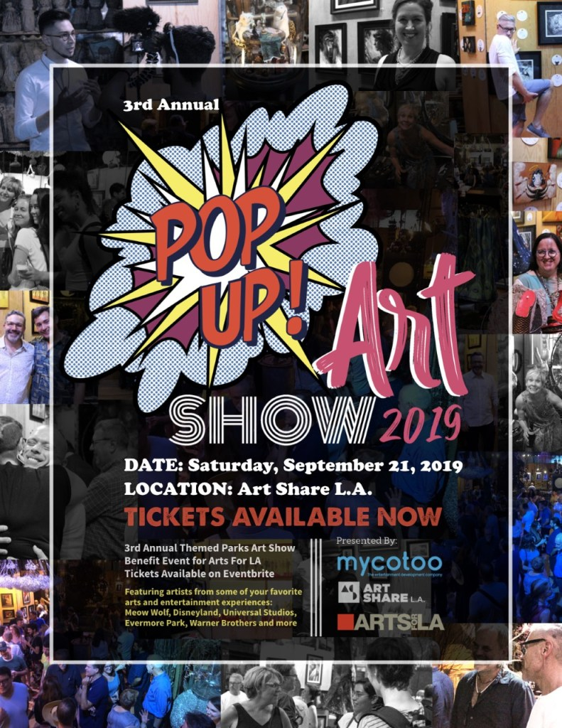 Theme Park Pop-Up Art Show 2019