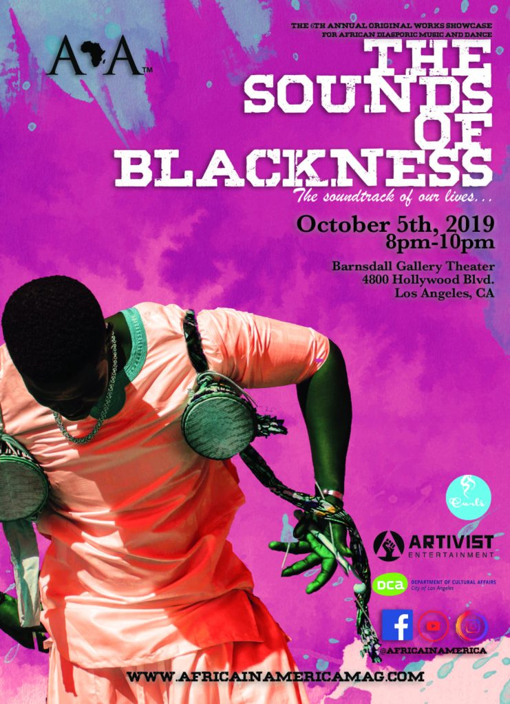 """Africa in America Presents the 6th Annual Original Works Showcase """"The Sounds of Blackness"""""""