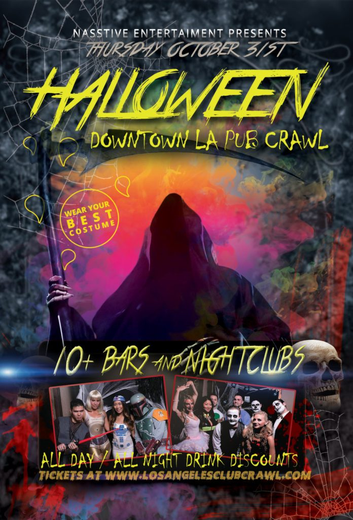 Halloween Night LA Bar Crawl