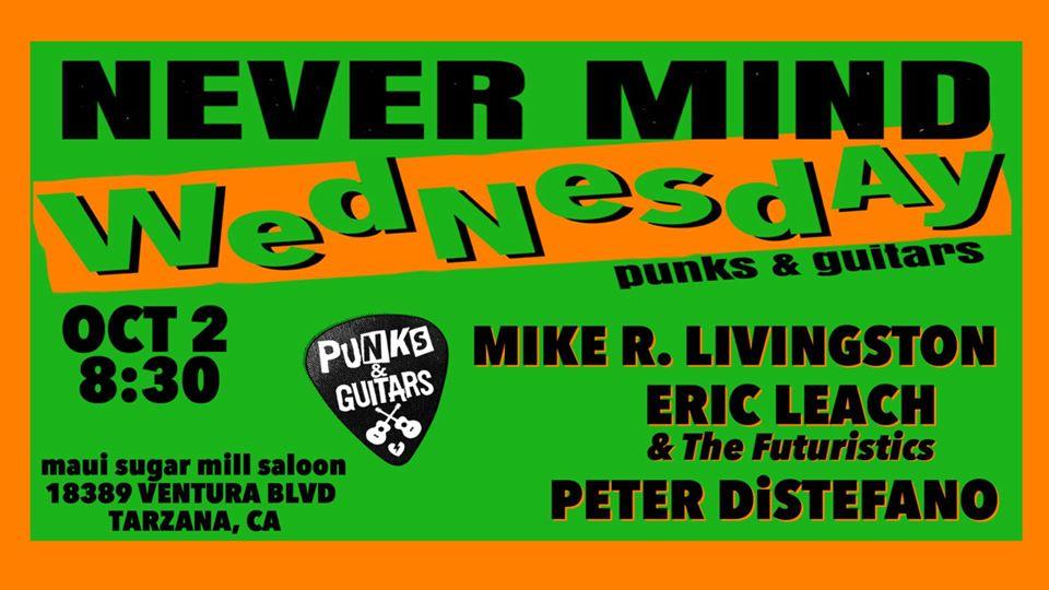 Mike R. Livingston, Eric Leach & the Futuristics, Peter DiStefano