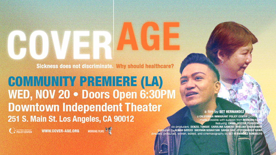 COVER/AGE – Film Screening & Panel