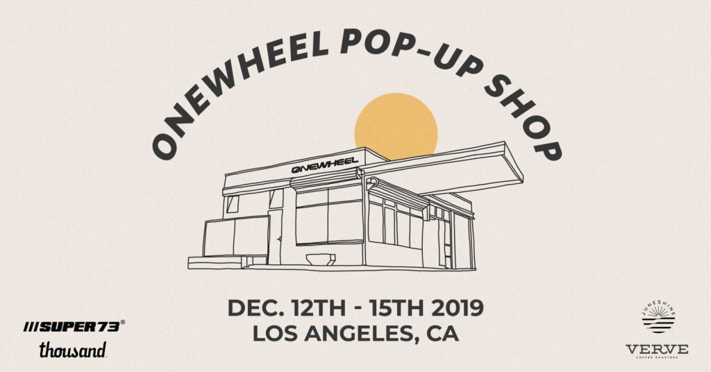 Onewheel Pop-Up Shop