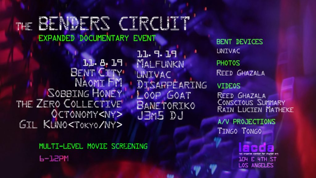 The Benders Circuit – Expanded Docu-Event