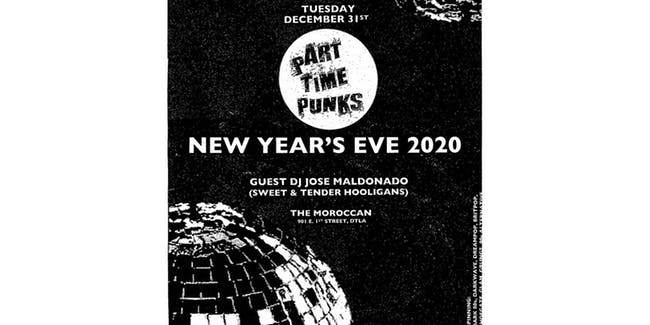 Part Time Punks' NYE 2020