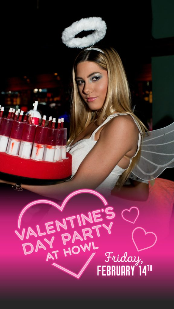 Valentine's Day Party at Howl