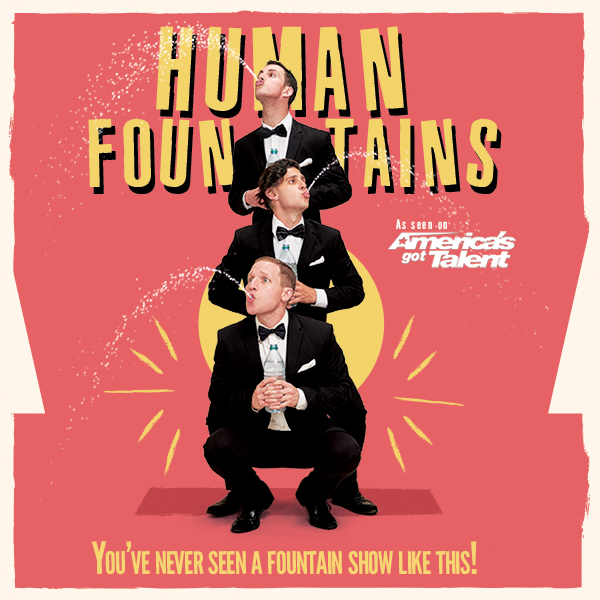 Human Fountains – The Wettest Show in Los Angeles!