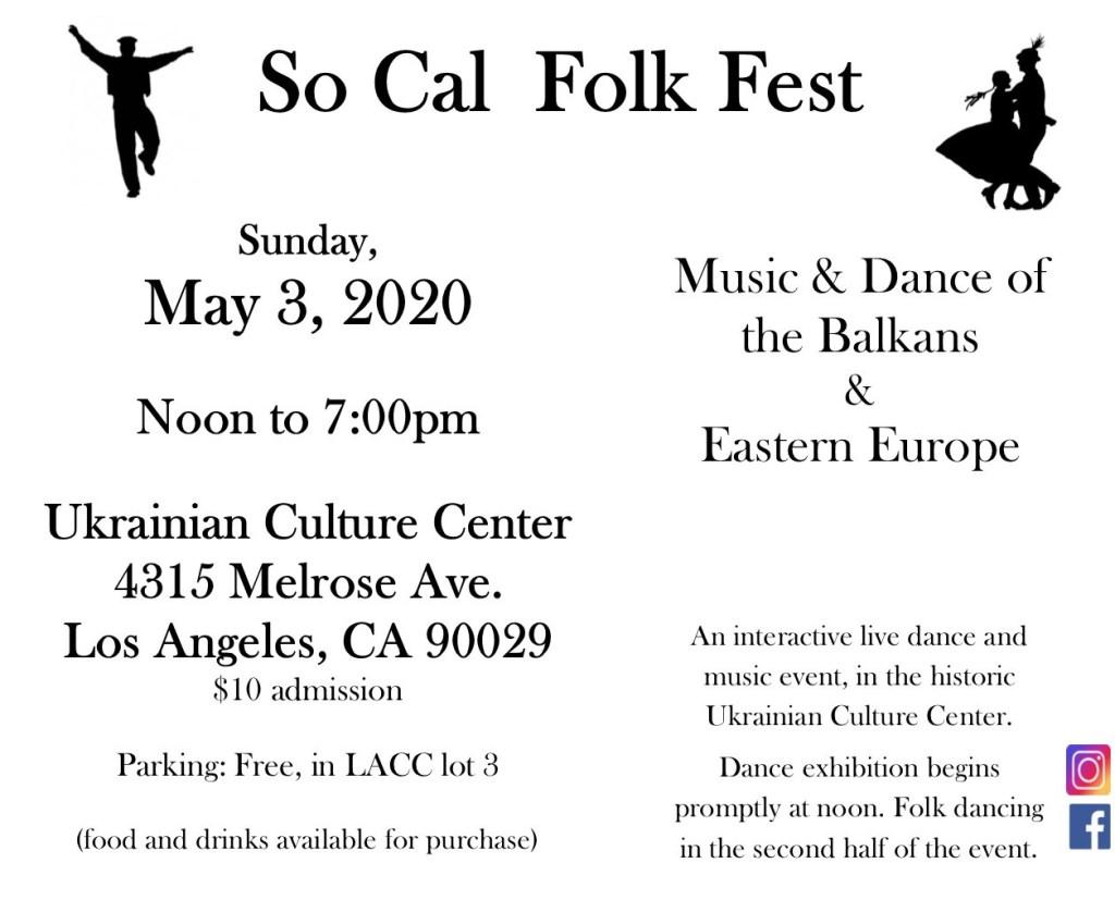 SoCal Folk Fest