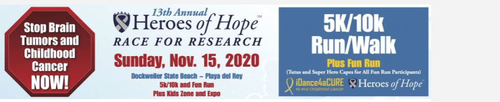 13th Annual Heroes of Hope Race for Research
