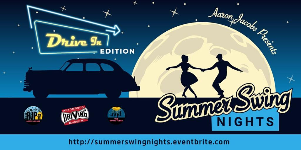 Summer Swing Nights: Drive-In Edition Benefiting the Automobile Driving Museum