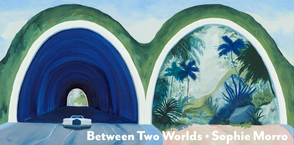Between Two Worlds | A pop-up painting exhibition by Sophie Morro