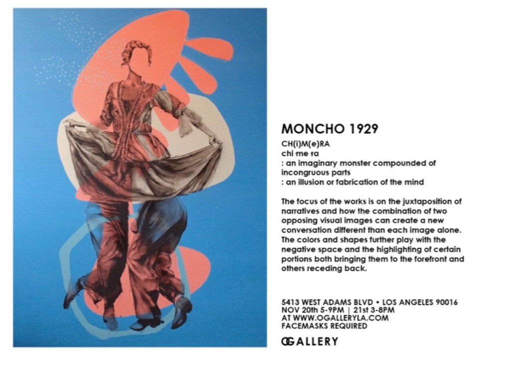 Moncho1929 CHIMERA art exhibition