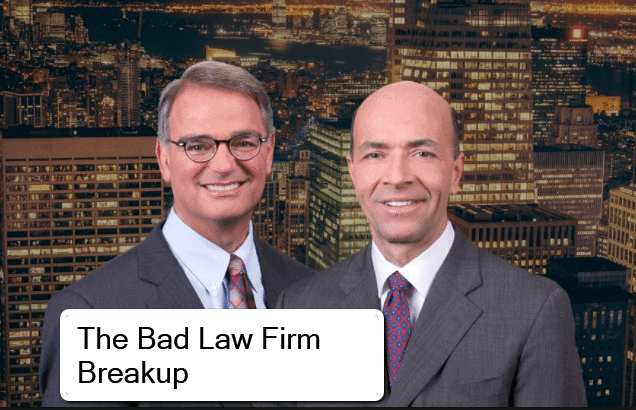 Breaking Up Is Hard to Do  5 Rules For Breaking Up a Law Firm     Breakups are hard to do  whether romantic or  legal  in the sense of law  firm partnerships  But the bitter breakup of a US personal injury firm is