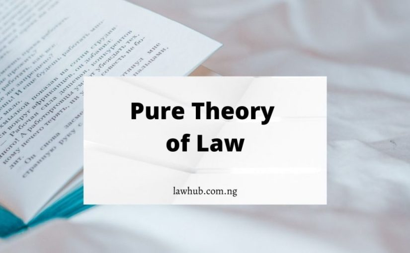 Pure Theory of Law Meaning and Proving as the Most Acceptable Theory of Law