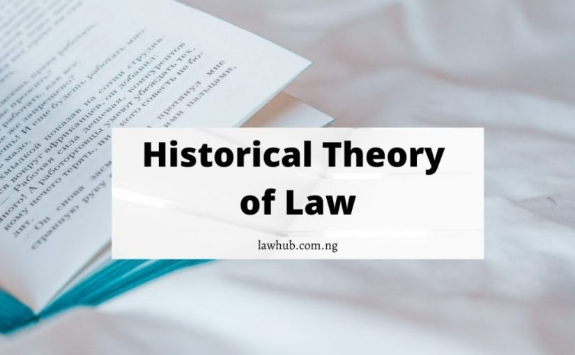 Historical Theory of Law: Meaning, Explanation, Arguments for and against