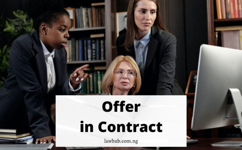 offer in contract