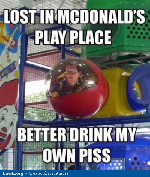 Bear Grylls a McDonald's