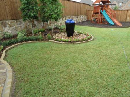 frisco tx landscape design pottery playground