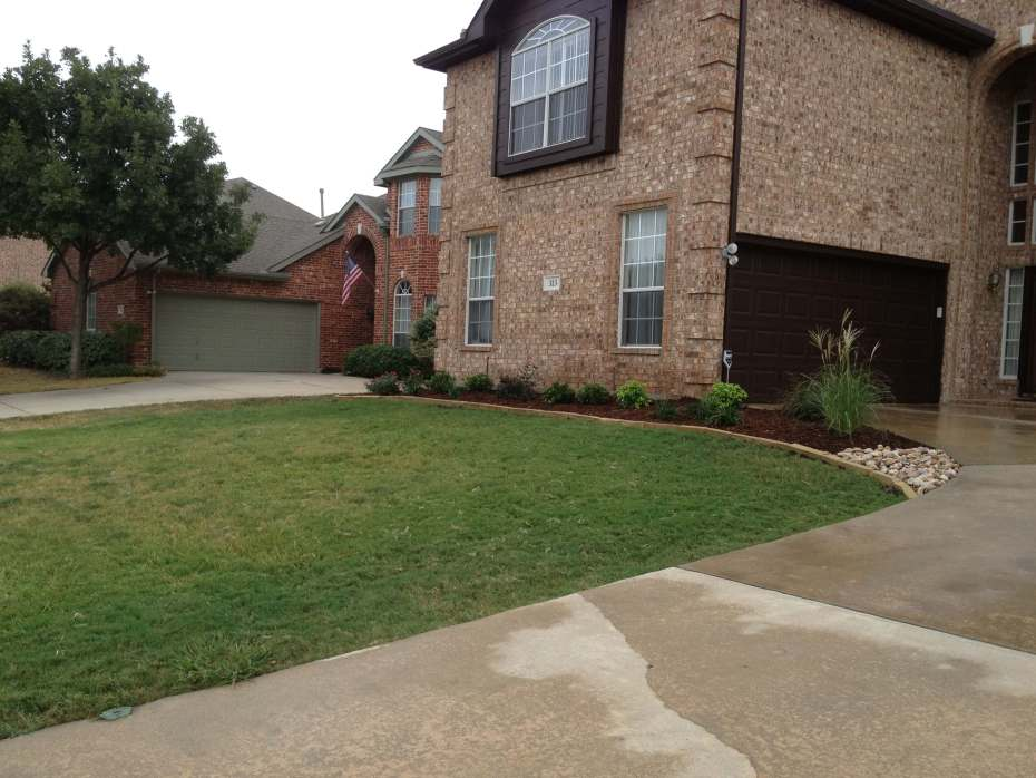 driveway landscaping dallas texas