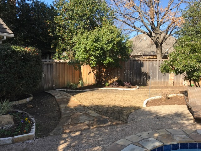 Plano Texas landscaping design