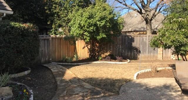 Plano Texas landscaping design