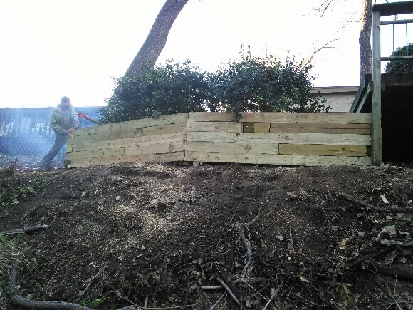 retaining wall land and landcare texas