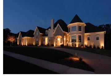 outdoor lighting installation outdoor