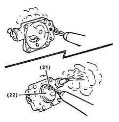 2-Cycle Carburetor Rebuilding Step 14