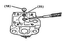 2-Cycle Carburetor Rebuilding Step 5