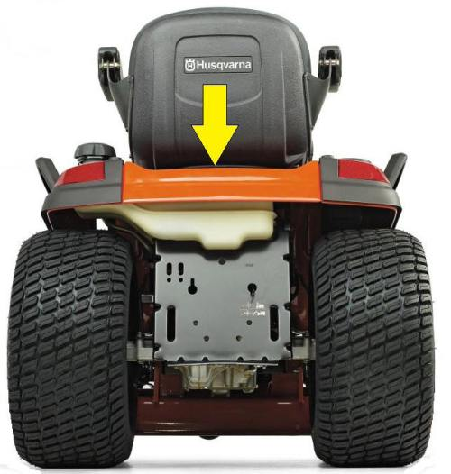 Husqvarna Riding Mower Model Number Location