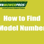 How to Find Outdoor Power Equipment Model Number